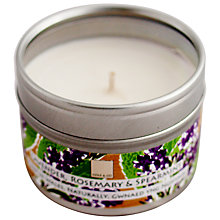 Buy Cole & Co Lavender, Spearmint and Rosemary Scented Candle Tin Online at johnlewis.com