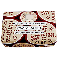 Buy Cole & Co Pomegranate Soap, 80g Online at johnlewis.com