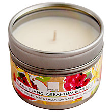 Buy Cole & Co Ylang Ylang, Geranium and Neroli Scented Candle Tin Online at johnlewis.com