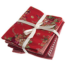 Buy John Lewis Christmas Fat Quarter Bundle, Pack of 5 Online at johnlewis.com