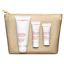 Buy Clarins Pampering Favourites Body Collection Online at johnlewis.com
