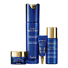Buy Guerlain Super Aqua Full Serum Gift Set Online at johnlewis.com