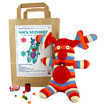 Buy Sock Creatures Reindeer Kit Online at johnlewis.com