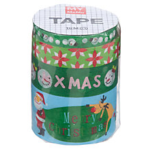 Buy Rico Christmas Tapes, 10m, Pack of 4 Online at johnlewis.com