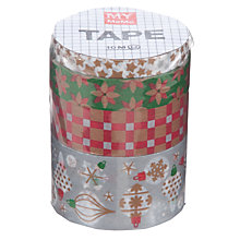 Buy Rico Christmas Ornament Tapes, 10m, Pack of 4 Online at johnlewis.com