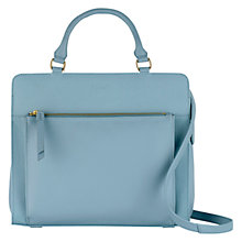 Buy Radley Clerkwell Medium Multiway Handbag, Sky Online at johnlewis.com