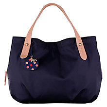 Buy Radley Petersham Medium Grab Bag, Navy Online at johnlewis.com