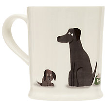 Buy Fenella Smith Family of Labradors Mug Online at johnlewis.com