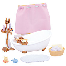 Buy Sylvanian Families Bath & Shower Set Online at johnlewis.com