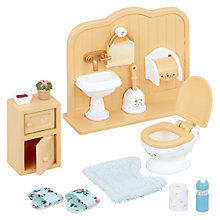 Buy Sylvanian Families Toilet Set Online at johnlewis.com