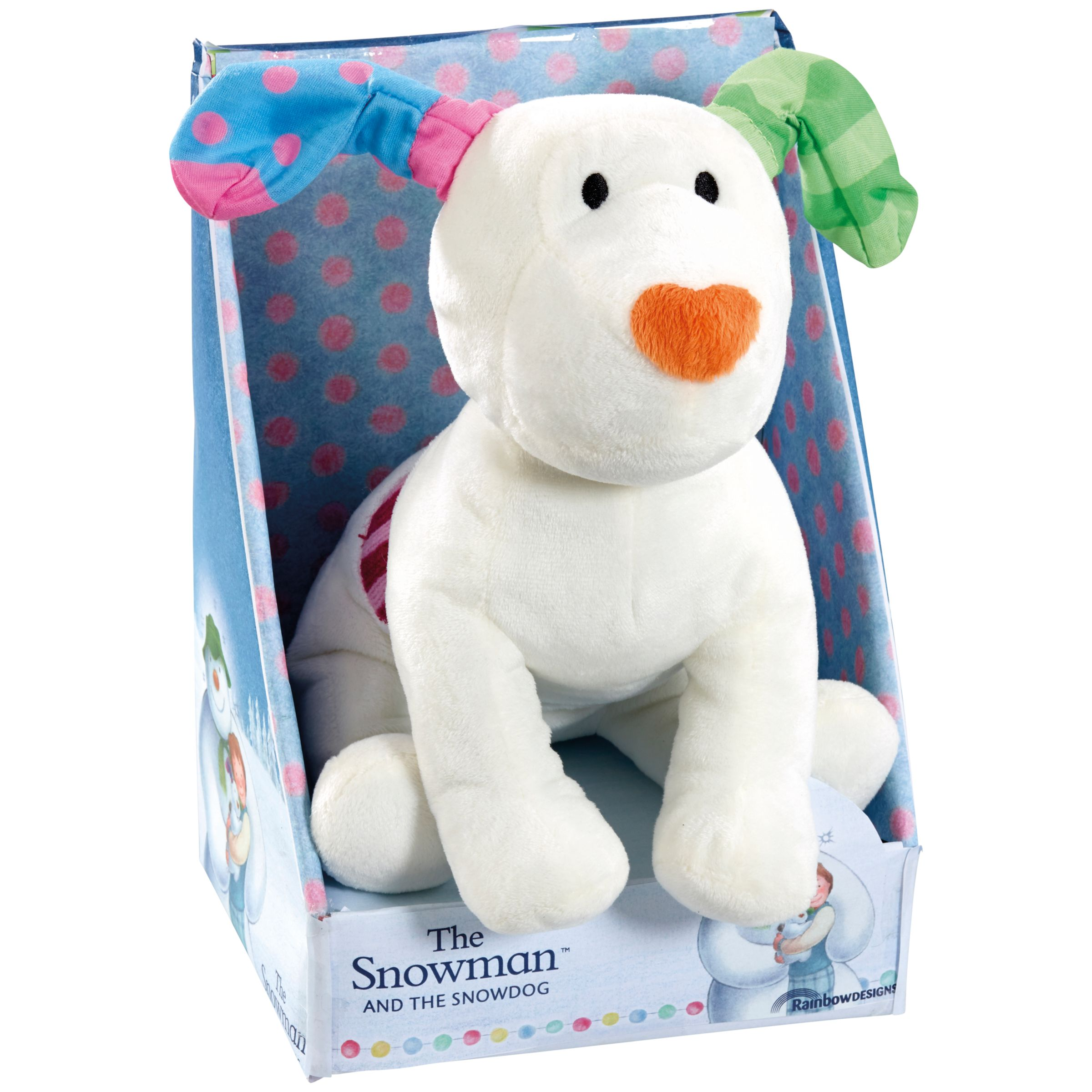 The Snowman The Snowman and The Snowdog Soft Toy