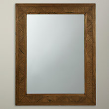 Buy John Lewis Parquet Rectangular Wall Mirror, 140 x 110cm Online at johnlewis.com