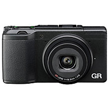 "Buy Ricoh GR II Expert Digital Camera, HD 1080p, 16.2MP, Wi-Fi, NFC, 3"" LCD Screen Online at johnlewis.com"
