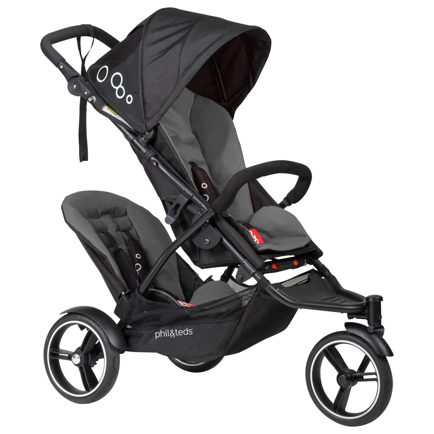 Phil & Teds Phil & Teds Dot Pushchair, Graphite