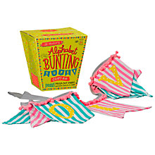 Buy The Makery Make Your Own Bunting Craft Kit Online at johnlewis.com
