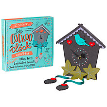 Buy The Makery Make Your Own Cuckoo Clock Craft Kit Online at johnlewis.com