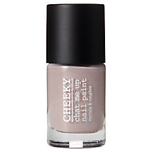 Buy CHEEKY Chat Me Up Nail Polish Blacks, Greys & Whites Collection, 10ml Online at johnlewis.com