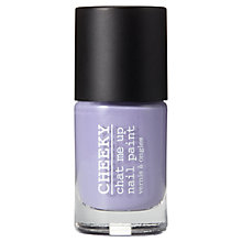 Buy CHEEKY Chat Me Up Nail Polish Blues & Purples Collection, 10ml Online at johnlewis.com