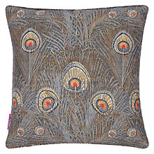 Buy Liberty Hera Cushion, Slate Blue Online at johnlewis.com