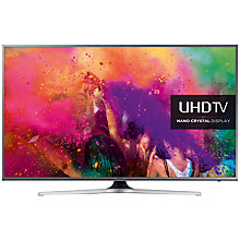 "Buy Samsung UE55JU6800 LED 4K Ultra HD Nano Crystal Smart TV, 55"" with Freeview HD and Built-In Wi-Fi Online at johnlewis.com"