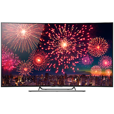 Sony Bravia KD55S8505 Curved LED 4K Ultra HD 3D Android TV, 55