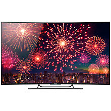 "Buy Sony Bravia KD55S8505 Curved LED 4K UHD 3D Android TV, 55"" with Freeview HD and Built-In Wi-Fi Online at johnlewis.com"