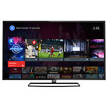 "Buy Philips 40PFT5500 Slim LED HD 1080p Android TV, 40"" with Freeview HD and Built In Wi-Fi Online at johnlewis.com"
