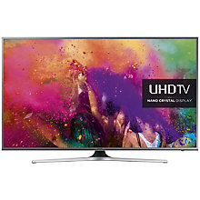 "Buy Samsung UE60JU6800 LED 4K Ultra HD Nano Crystal Smart TV, 60"" with Freeview HD and Built-In Wi-Fi Online at johnlewis.com"