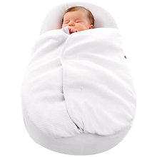 Buy Cocoonababy Baby Blanket, 0.5 Tog, White Online at johnlewis.com