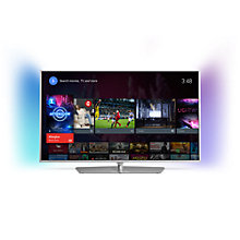 "Buy Philips 40PFT6510 LED HD 1080p 3D Android TV, 40"" with Freeview HD, Built-In Wi-Fi & Intuitive Remote Online at johnlewis.com"