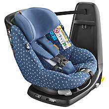 Buy Maxi-Cosi AxissFix Car Seat, Denim Hearts Online at johnlewis.com
