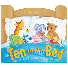 Buy Little Tiger Kids 'Ten in the Bed' Book Online at johnlewis.com
