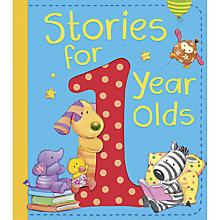 Buy Little Tiger Kids Stories for 1 Year Olds Hardback Book Online at johnlewis.com