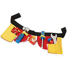 Buy Le Toy Van Tool Belt Set Online at johnlewis.com