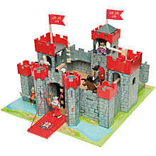 Buy Le Toy Van Lionheart Castle Play Set Online at johnlewis.com