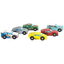 Buy Le Toy Van Monte Carlo 6 Car Set Online at johnlewis.com