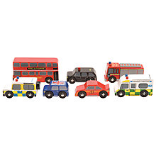Buy Le Toy Van London Car Set Online at johnlewis.com