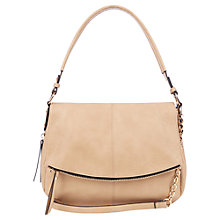 Buy Oasis Zenda Zip Cross Body Bag, Tan Online at johnlewis.com