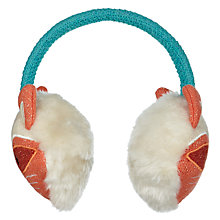 Buy Aroma Home Knitted Fox Ear Muffs Online at johnlewis.com