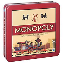 Buy Nostalgia Monopoly Tin Online at johnlewis.com