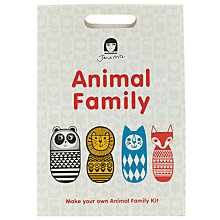 Buy Jane Foster Animal Family Craft Kit, Multi Online at johnlewis.com