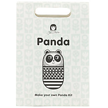 Buy Jane Foster Panda Craft Kit, Black/White Online at johnlewis.com
