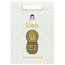 Buy Jane Foster Lion Craft Kit, Yellow Online at johnlewis.com