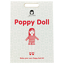 Buy Jane Foster Poppy Doll Craft Kit, Red/White Online at johnlewis.com
