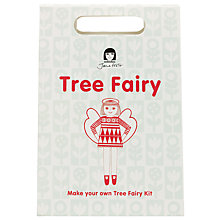 Buy Jane Foster Tree Fairy Christmas Craft Kit, Red/White Online at johnlewis.com