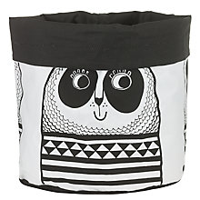 Buy Jane Foster Large Panda Knitting Bucket, Black/White Online at johnlewis.com