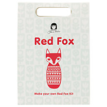 Buy Jane Foster Fox Craft Kit, Red/White Online at johnlewis.com