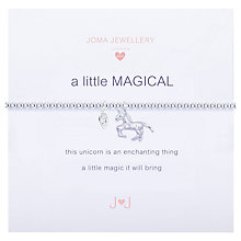 Buy Joma Sterling Silver Plated A Little Magical Bracelet, Silver Online at johnlewis.com
