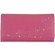 Buy Radley On The Trail Matt Leather Flapover Matinee Purse, Rosewood Pink Online at johnlewis.com