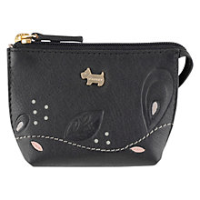 Buy Radley On The Trail Light Coin Purse, Black Online at johnlewis.com